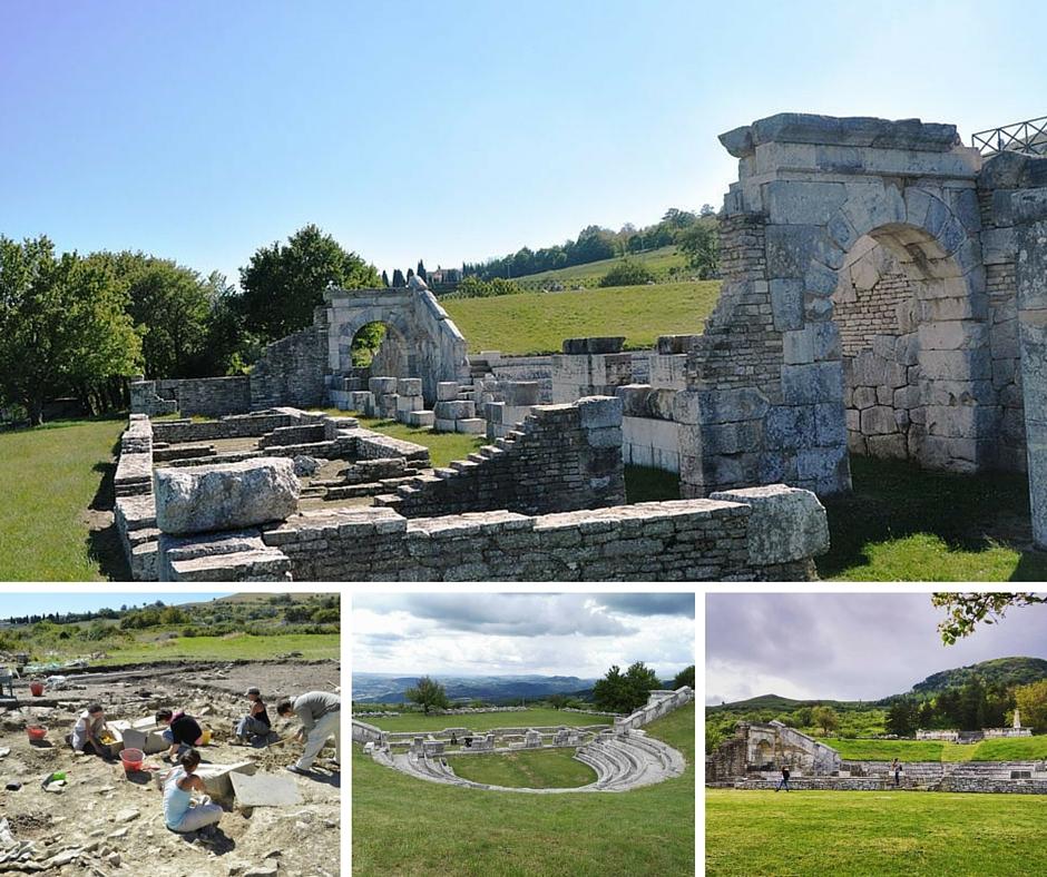 Pietrabbondante scavi archeologici